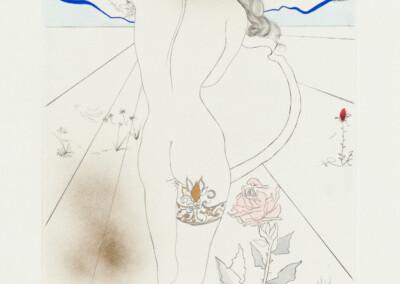 Nude with Garter