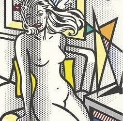 Nude with Yellow Pillow