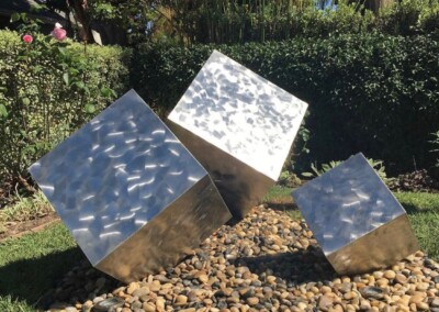 Stainless Steel Cubes