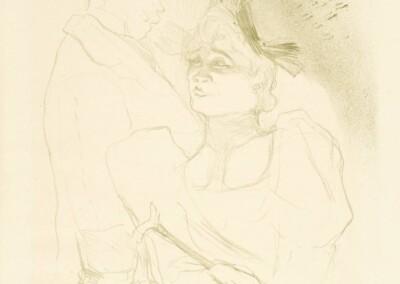 Mademoiselle Lender et Baron