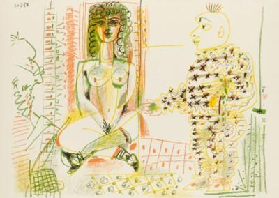Le Peintre Et Son Modéle, The Painter and his Model