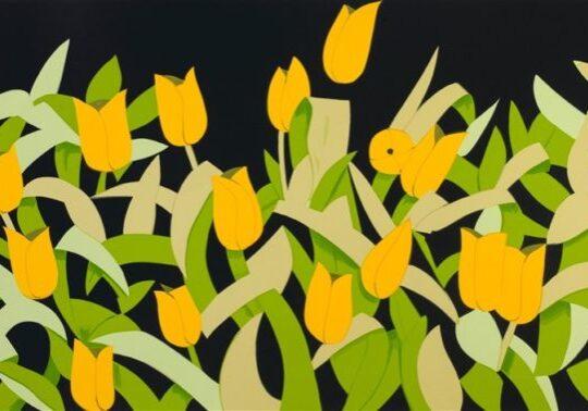 alex-katz-yellow-tulips